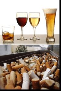 Rukymas ir alkoholis sukelia vėžį